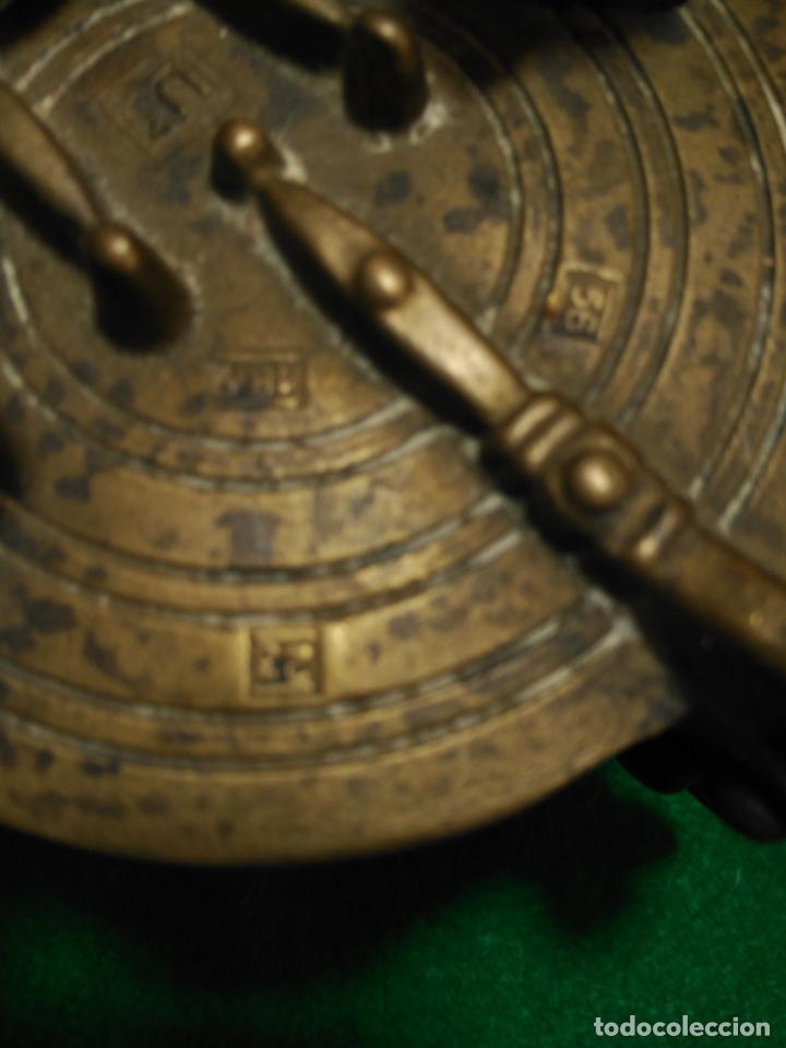 Antigüedades: ANTIGUOS PONDERALES VASOS ANIDADOS NUREMBERG SIGLO XVII PONDERAL PESOS PESAS 980,00 € - Foto 5 - 67090665