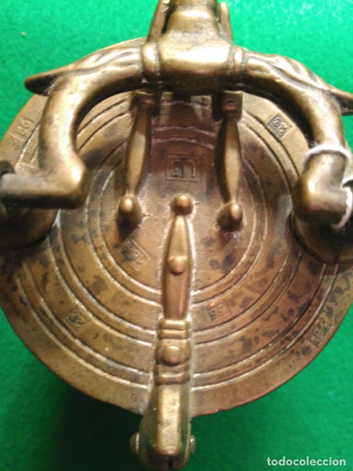 Antigüedades: ANTIGUOS PONDERALES VASOS ANIDADOS NUREMBERG SIGLO XVII PONDERAL PESOS PESAS 980,00 € - Foto 11 - 67090665