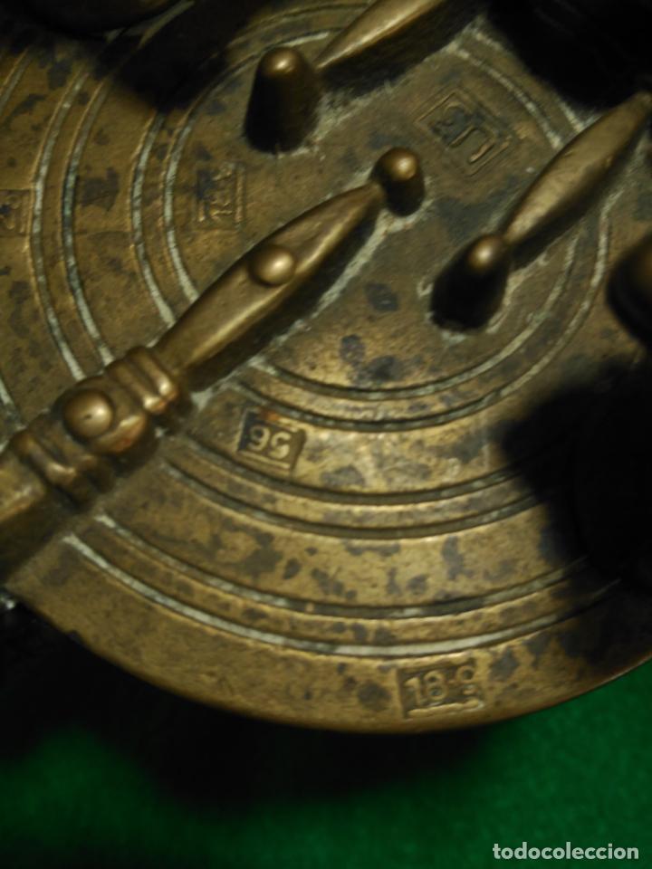 Antigüedades: ANTIGUOS PONDERALES VASOS ANIDADOS NUREMBERG SIGLO XVII PONDERAL PESOS PESAS 980,00 € - Foto 9 - 67090665