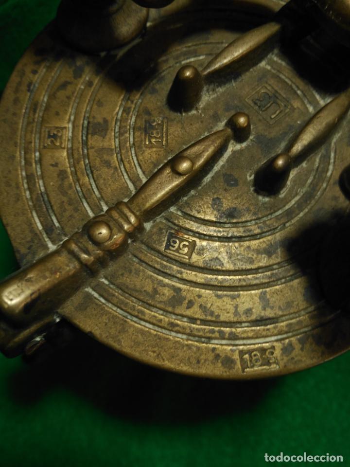 Antigüedades: ANTIGUOS PONDERALES VASOS ANIDADOS NUREMBERG SIGLO XVII PONDERAL PESOS PESAS 980,00 € - Foto 10 - 67090665