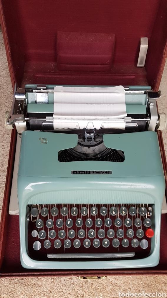 Antigüedades: Máquina escribir olivetti studio44 - Foto 2 - 186837791