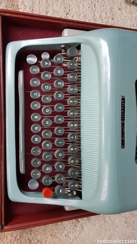 Antigüedades: Máquina escribir olivetti studio44 - Foto 5 - 186837791