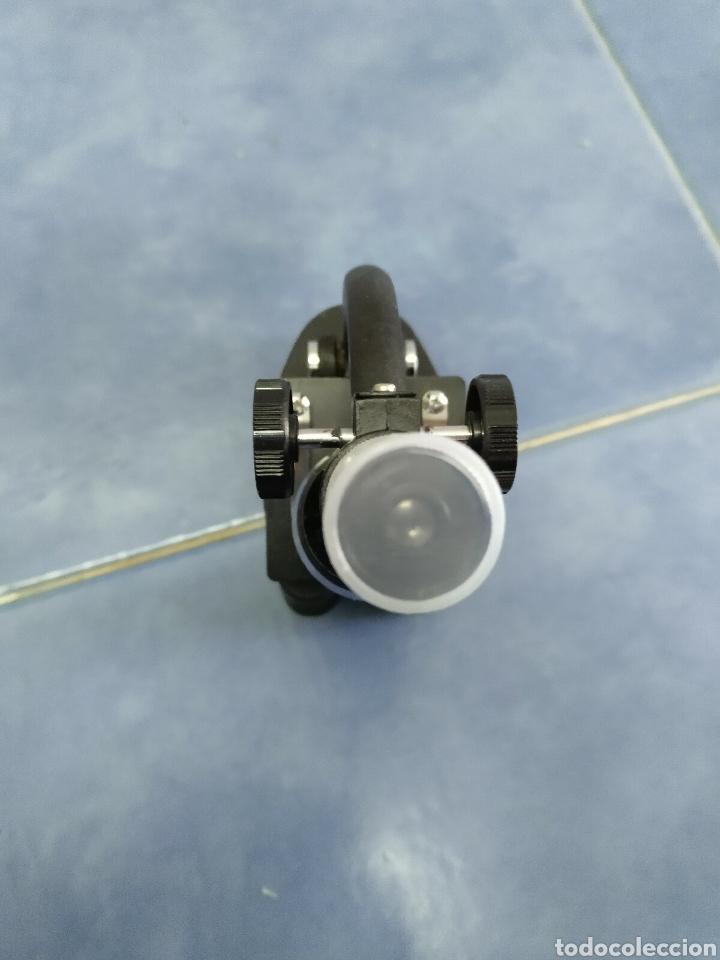 Antigüedades: Microscopio Favila años 80 con caja de madera - Foto 8 - 187025867