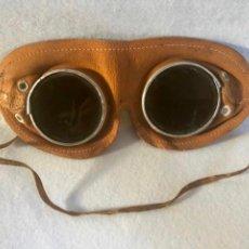 Antigüedades: GAFAS DE MOTORISTA O AVIADOR . Lote 187122233