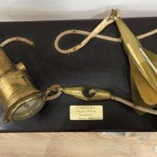 Antigüedades: CORREDERA DE BARCO CORREO ANADARA. Lote 187207523