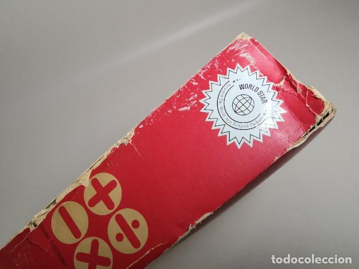 Antigüedades: CALCULADORA TOSHIBA BC0804B - 1973 CON SU CAJA LIBRO--FUNCIONANDO !!! - Foto 67 - 187287138