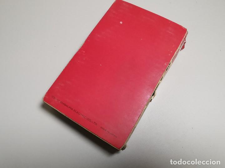 Antigüedades: CALCULADORA TOSHIBA BC0804B - 1973 CON SU CAJA LIBRO--FUNCIONANDO !!! - Foto 68 - 187287138