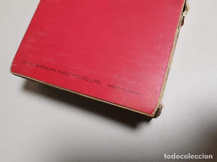 Antigüedades: CALCULADORA TOSHIBA BC0804B - 1973 CON SU CAJA LIBRO--FUNCIONANDO !!! - Foto 70 - 187287138