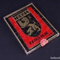 Antigüedades: IBERIA EXTRA LUJO. PACK CON 10 CAJETILLAS DE 10 HOJAS DE AFEITAR CADA UNA. Lote 187292393