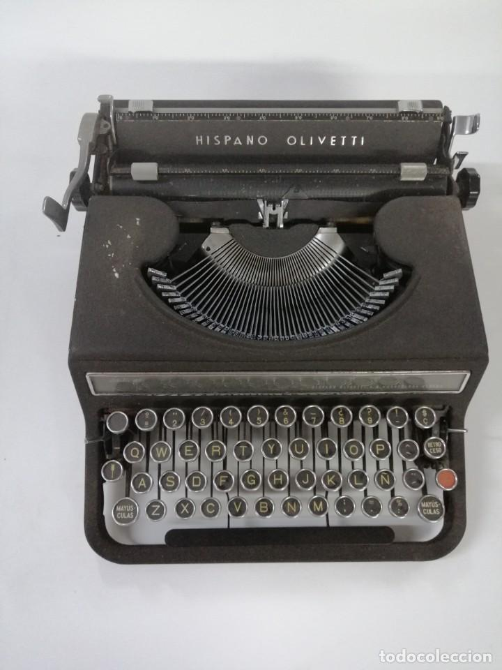 MÁQUINA DE ESCRIBIR HISPANO - OLIVETTI STUDIO 46 (Antigüedades - Técnicas - Máquinas de Escribir Antiguas - Olivetti)