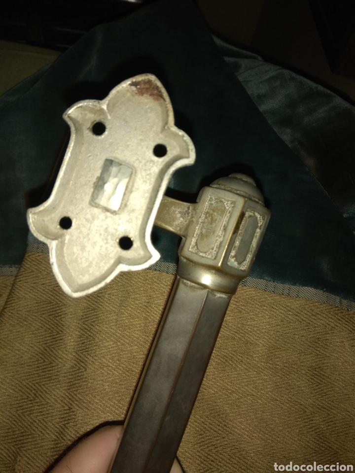 Antigüedades: Gran Tirador - Asa de Puerta - - Foto 6 - 187392033