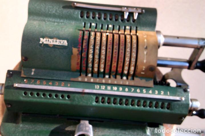 Antigüedades: Calculadora Minerva - Foto 2 - 187392660