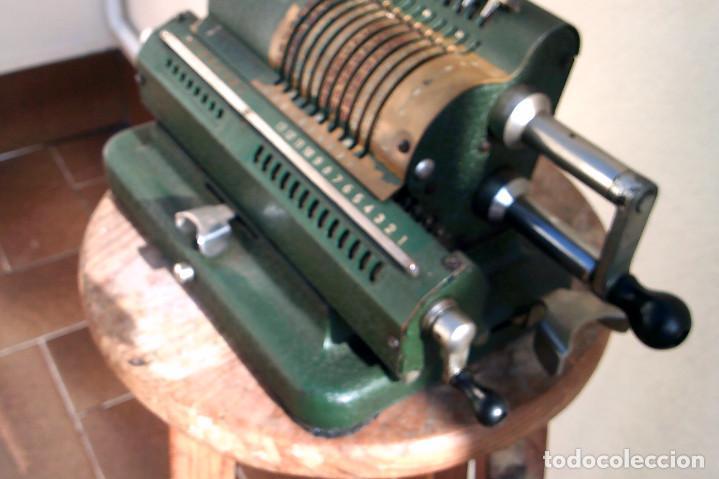 Antigüedades: Calculadora Minerva - Foto 3 - 187392660