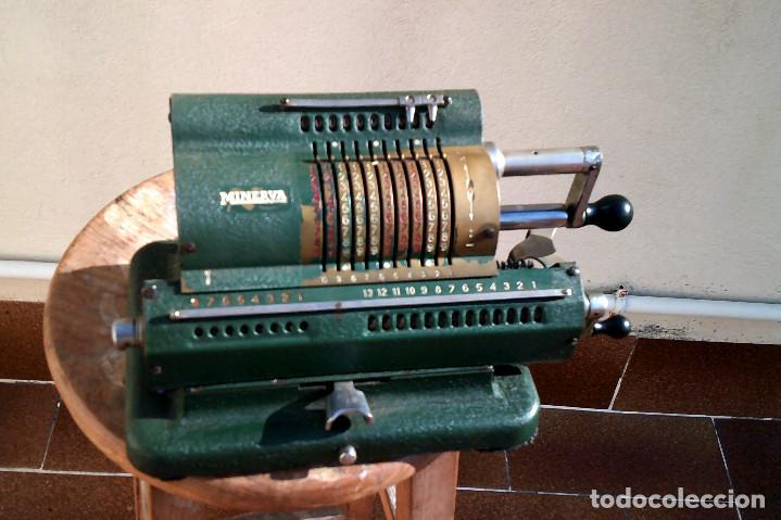 Antigüedades: Calculadora Minerva - Foto 6 - 187392660