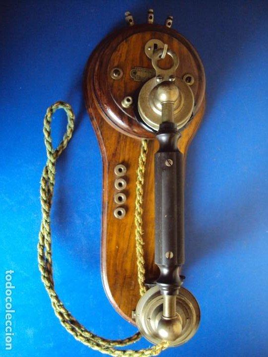 (ANT-191252)TELEFONO CENTRALITA PRINCIPIOS DE SIGLO - SOCIEDAD ANONIMA DE TELEFONIA PRIVADA (Antigüedades - Técnicas - Teléfonos Antiguos)