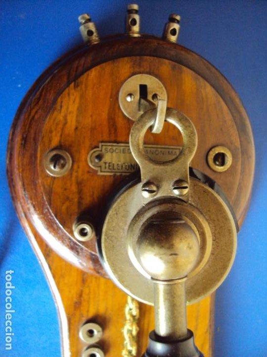 Teléfonos: (ANT-191252)TELEFONO CENTRALITA PRINCIPIOS DE SIGLO - SOCIEDAD ANONIMA DE TELEFONIA PRIVADA - Foto 2 - 187417775