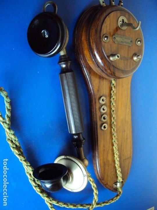 Teléfonos: (ANT-191252)TELEFONO CENTRALITA PRINCIPIOS DE SIGLO - SOCIEDAD ANONIMA DE TELEFONIA PRIVADA - Foto 5 - 187417775