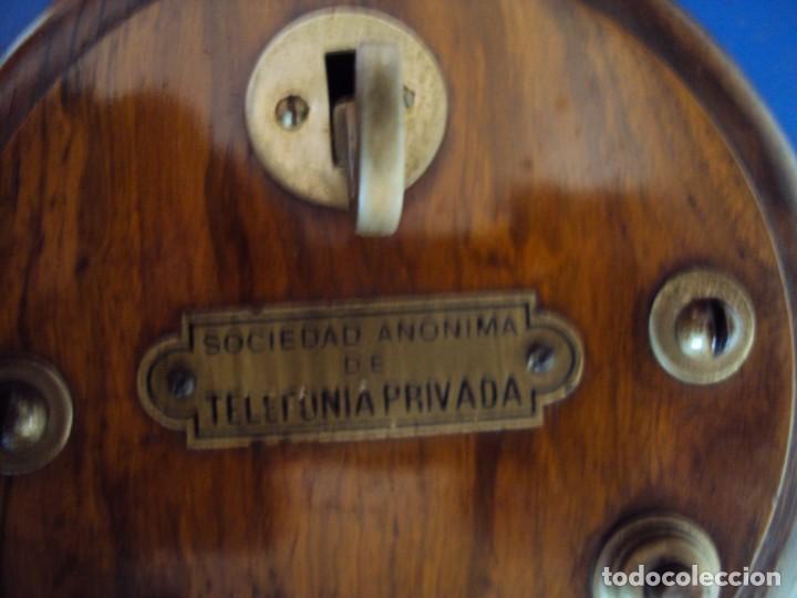 Teléfonos: (ANT-191252)TELEFONO CENTRALITA PRINCIPIOS DE SIGLO - SOCIEDAD ANONIMA DE TELEFONIA PRIVADA - Foto 6 - 187417775