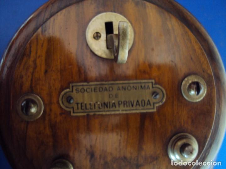 Teléfonos: (ANT-191252)TELEFONO CENTRALITA PRINCIPIOS DE SIGLO - SOCIEDAD ANONIMA DE TELEFONIA PRIVADA - Foto 8 - 187417775