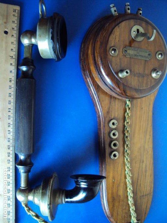 Teléfonos: (ANT-191252)TELEFONO CENTRALITA PRINCIPIOS DE SIGLO - SOCIEDAD ANONIMA DE TELEFONIA PRIVADA - Foto 13 - 187417775