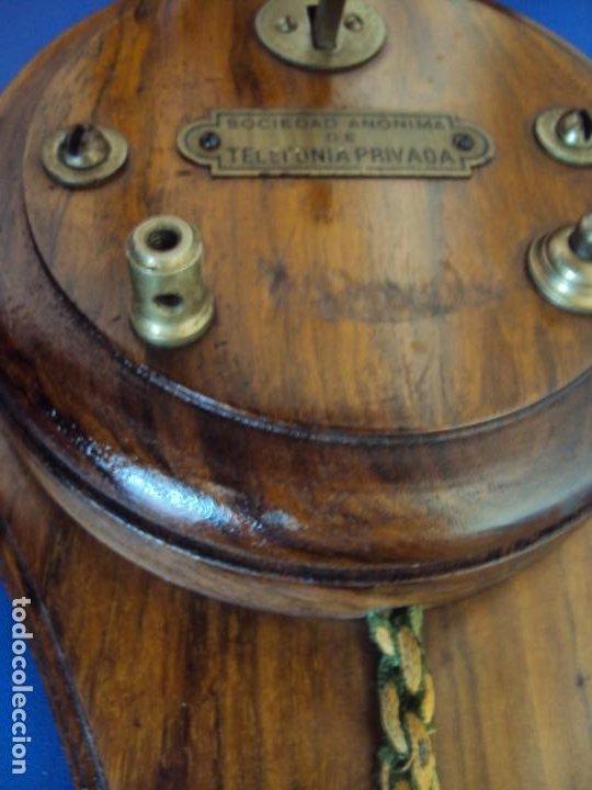 Teléfonos: (ANT-191252)TELEFONO CENTRALITA PRINCIPIOS DE SIGLO - SOCIEDAD ANONIMA DE TELEFONIA PRIVADA - Foto 14 - 187417775