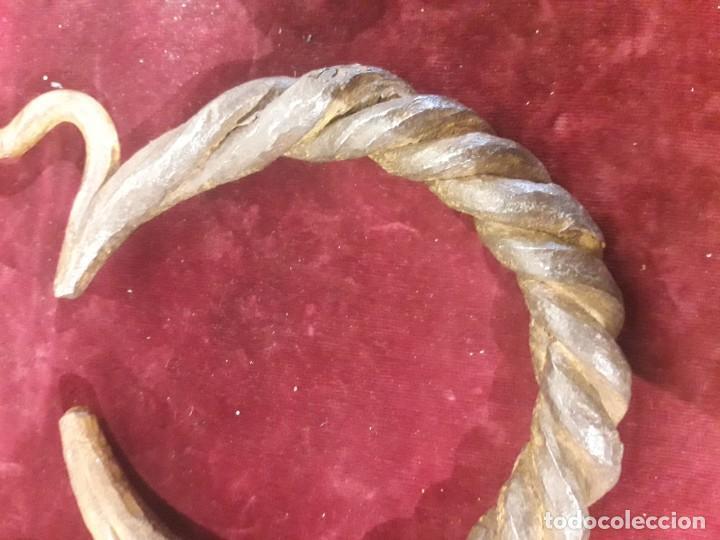 Antigüedades: Aldaba siglo XV. XVI - Foto 5 - 187421121