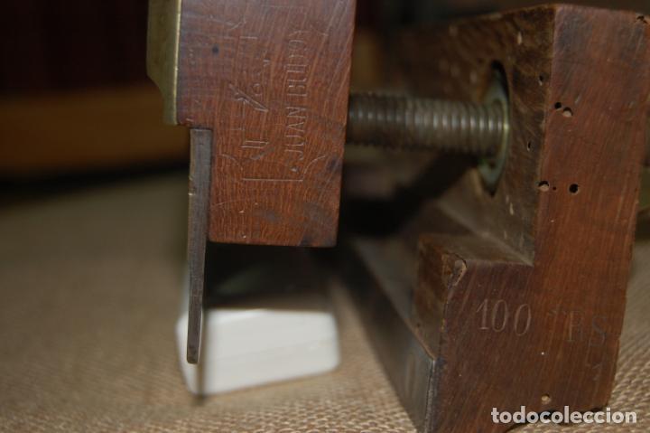 Antigüedades: Cepillo acanalador de carpintero. Juan Budoy. - Foto 4 - 187459856