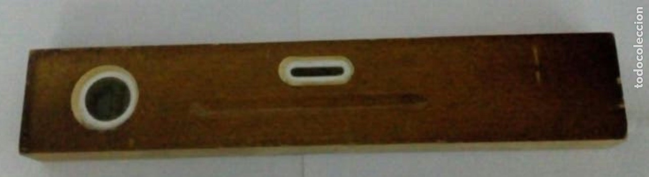 Antigüedades: Nivel de madera - Foto 3 - 187462945