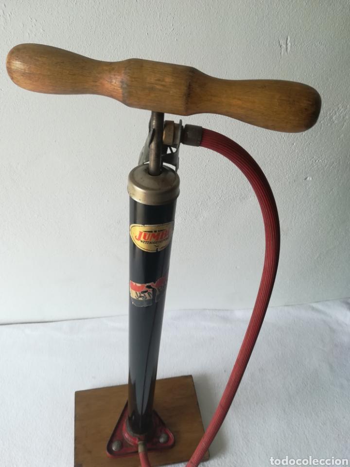 Antigüedades: Inflador de ruedas vintage - Foto 2 - 187466956