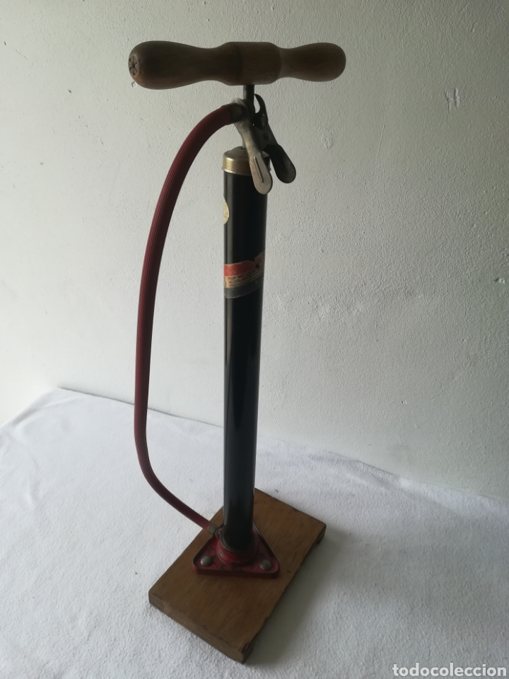 Antigüedades: Inflador de ruedas vintage - Foto 4 - 187466956