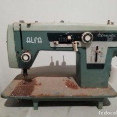 Antigüedades: ANTIGUA MAQUINA DE COSER ALFA ALFAMATIC 109. Lote 187506170