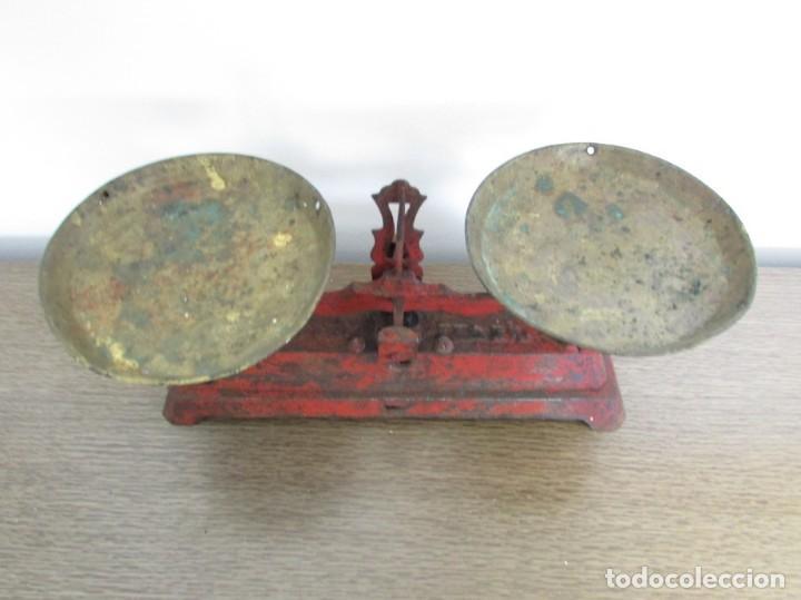 Antigüedades: BALANZA, BASCULA SIMPLEX 3 KG SIN PESAS - Foto 2 - 187579983