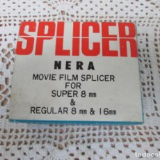 Antigüedades: SPLICER NERA MOVIE FILM SPLICER SUPER 8MM.. Lote 187614168