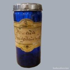 Antigüedades: BOTES ANTIGUOS FARMACIA. Lote 203020985