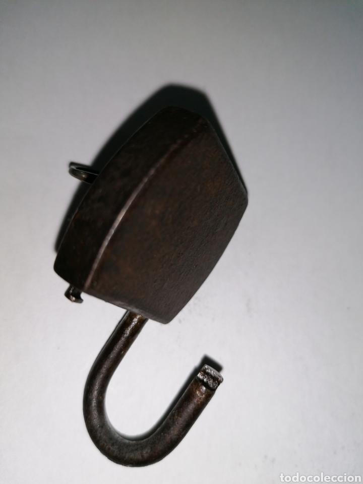 Antigüedades: Candado de taquilla militar - Foto 4 - 188449425