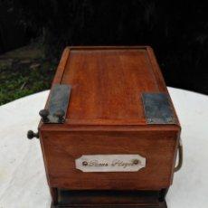 Antigüedades: CAJA INGLESA REGISTRADORA. . Lote 188462932