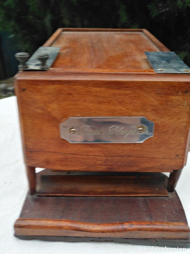Antigüedades: Caja inglesa registradora. - Foto 2 - 188462932