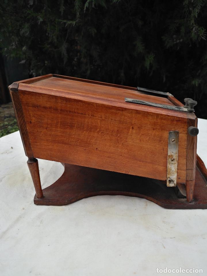 Antigüedades: Caja inglesa registradora. - Foto 3 - 188462932