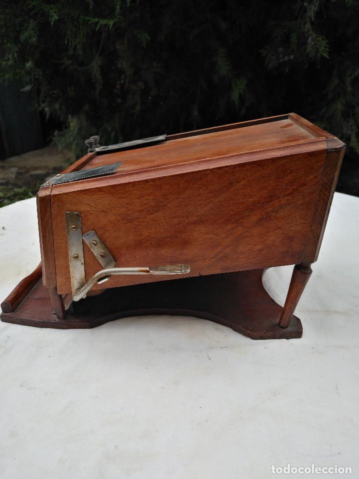 Antigüedades: Caja inglesa registradora. - Foto 5 - 188462932