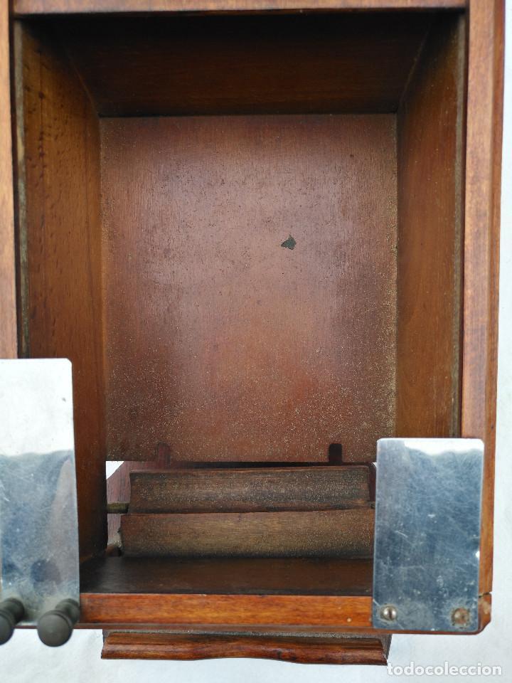 Antigüedades: Caja inglesa registradora. - Foto 7 - 188462932
