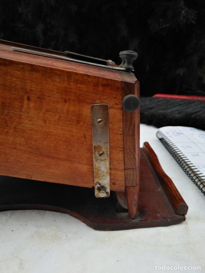 Antigüedades: Caja inglesa registradora. - Foto 10 - 188462932