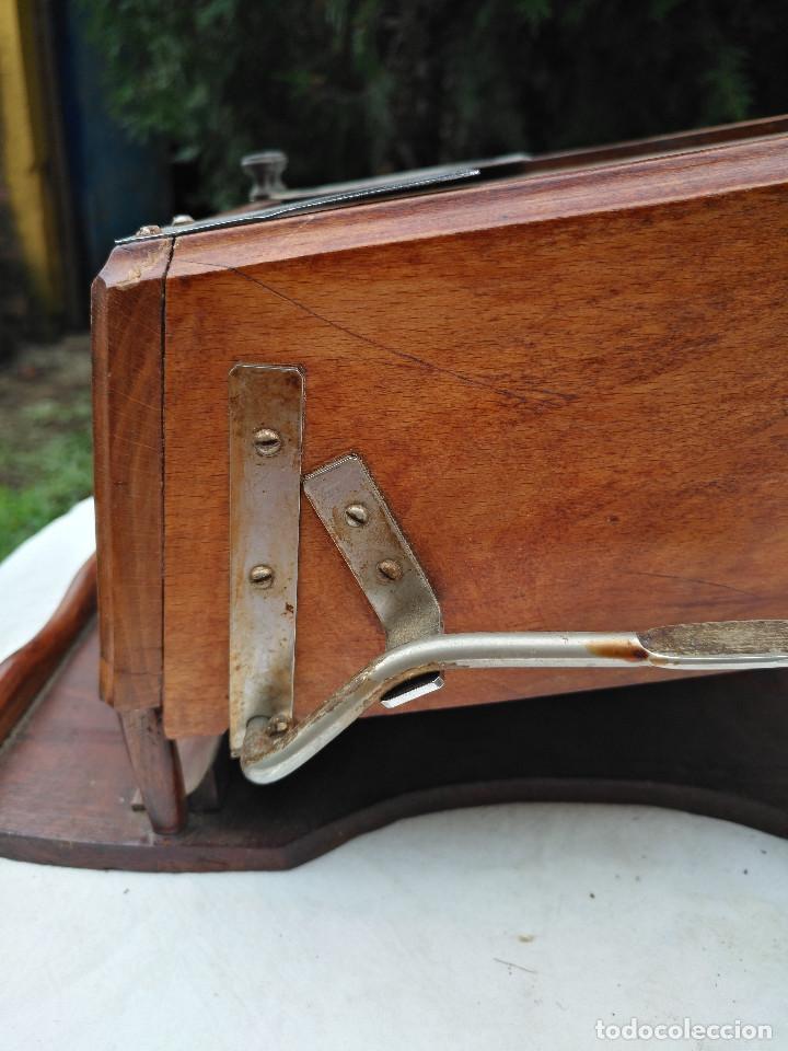 Antigüedades: Caja inglesa registradora. - Foto 11 - 188462932