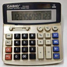 Antigüedades: CALCULADORA CASIO DS-5500 12 DIGITOS.. Lote 212472110