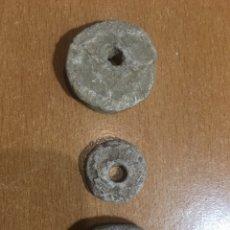 Antigüedades: PIEZAS DE PLOMO ROMANAS. Lote 188550638