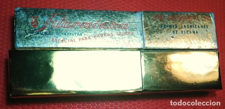 Antigüedades: ESPECIAL BARBAS DURAS FILARMONICA 14, navaja de Afeitar, Straight Razor, Rasoio - Foto 9 - 188551370