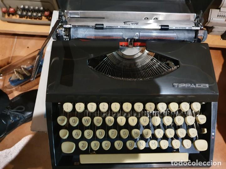 MÁQUINA DE ESCRIBIR TRIUMPH TIPPA S FUNCIONANDO (Antigüedades - Técnicas - Máquinas de Escribir Antiguas - Triumph)