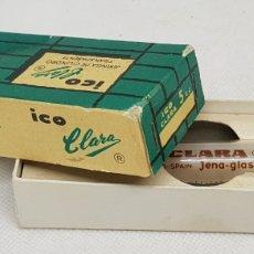 Antigüedades: ICO CLARA - JERINGUILLA CRISTAL 5CC - SIN USO - CAR168. Lote 188693010