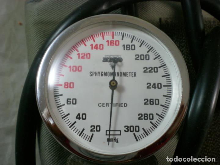 Antigüedades: Tesiometro Hico - Made in Japan - Sphygmomanometer - Foto 5 - 188724447