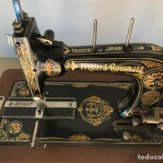 Antiquités: ANTIGUO MAQUINA DE COSER FRUSTRÉ ROSSMANN. Lote 188786591