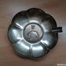 Antigüedades: CENICERO ANTIGUO DE ALTOS HORNOS DE VIZCAYA.. Lote 189080536